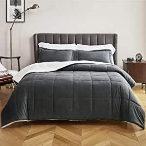 Bedsure Luxurious Micromink Sherpa Twin Comforter Set 2 Pieces  $49.99 2 at