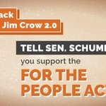 Image for the Tweet beginning: The #ForThePeopleAct: ⏭ Makes it easier
