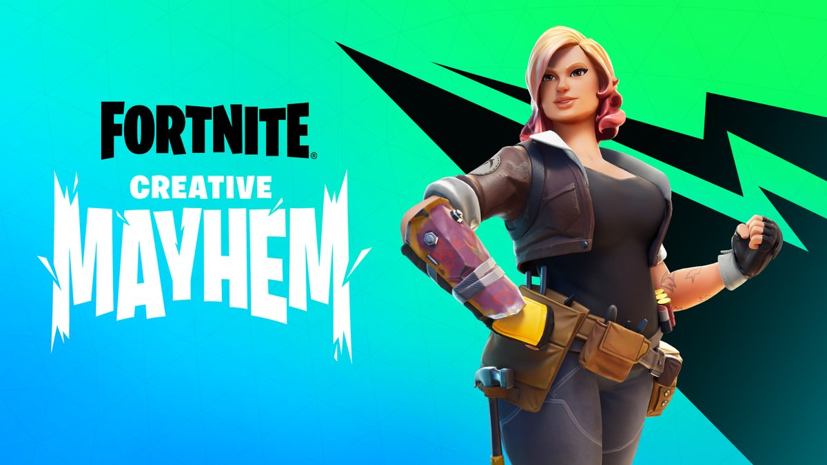 Only one day left to grab the Creative Mayhem rewards and submit your time to play with your favorite creator!   Event ends tomorrow at 9 AM ET ⏰  More info here: https://t.co/jwcEvFa5iw https://t.co/Tg1AQaxRmz