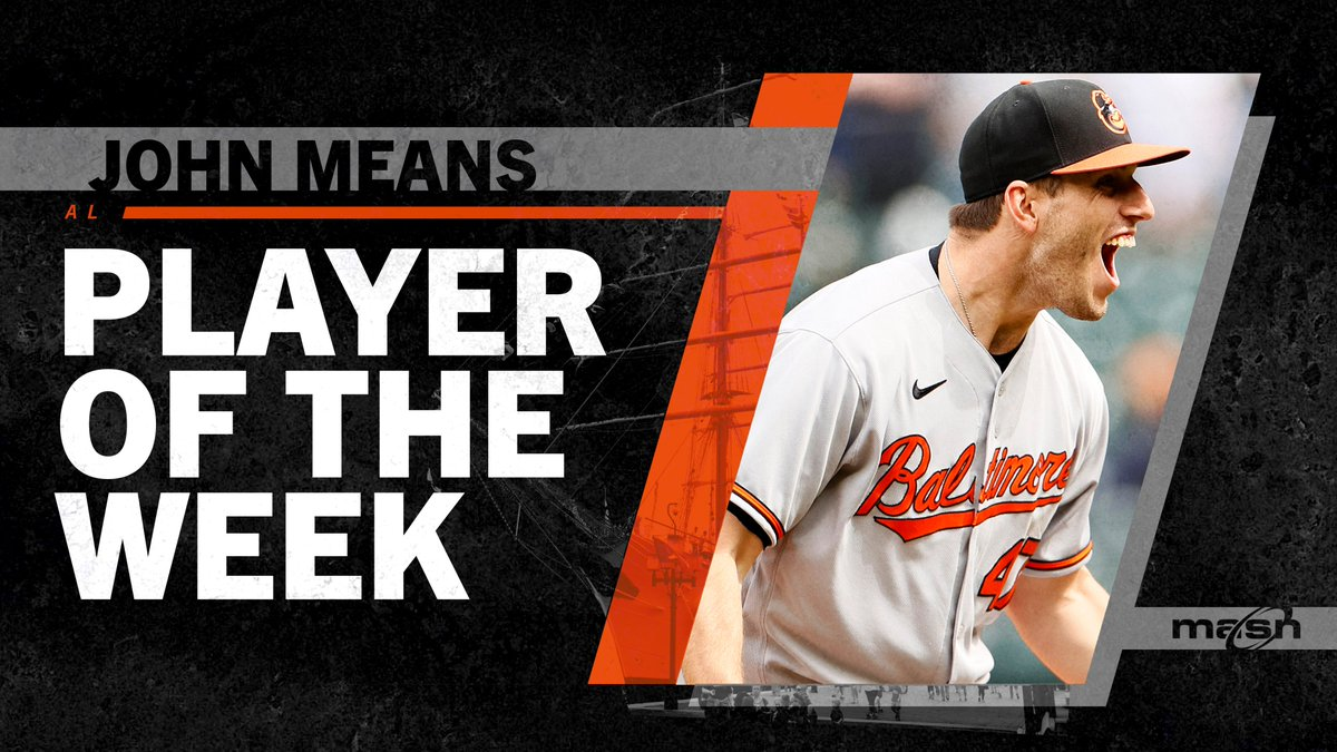 @masnOrioles's photo on Player of the Week