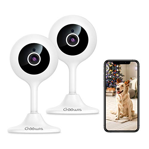 2 Indoor WiFi Camera for Home Security