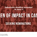 Image for the Tweet beginning: Deadline extended to June 1!  Know