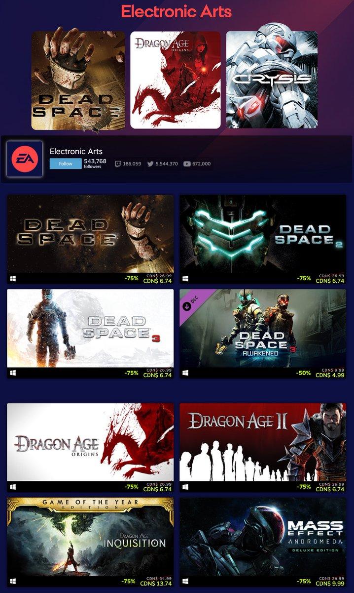EA Sale on Steam