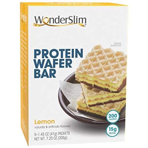 2 WonderSlim Protein Wafer Bar