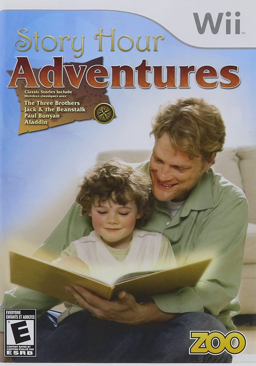 Story Hour: Adventures (Wii) is $10.82 brand new on Amazon: 2  only 1 left