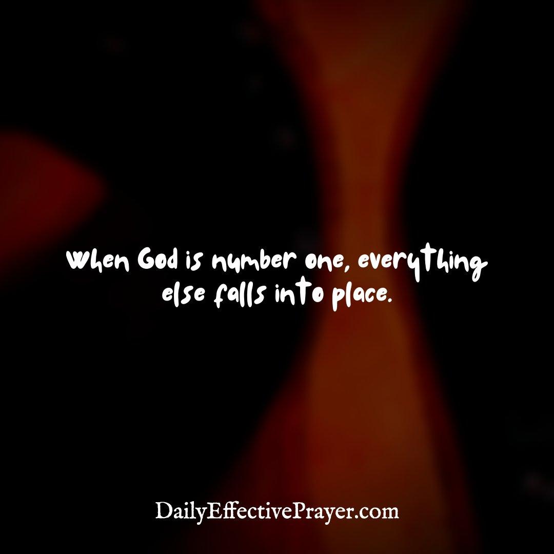 When God is NUMBER ONE, everything else falls into place. Type YES if you agree! 💯 . . . . . . #injesusname🙏🏽amen #prayerandwork #prayergang #aprayingfamily #iprayedforyoutoday #morningprayertime #prayerpoint #prayercamp #prayerlife #prayerandworship #prayerforfuturehusband https://t.co/4x65HG0szU