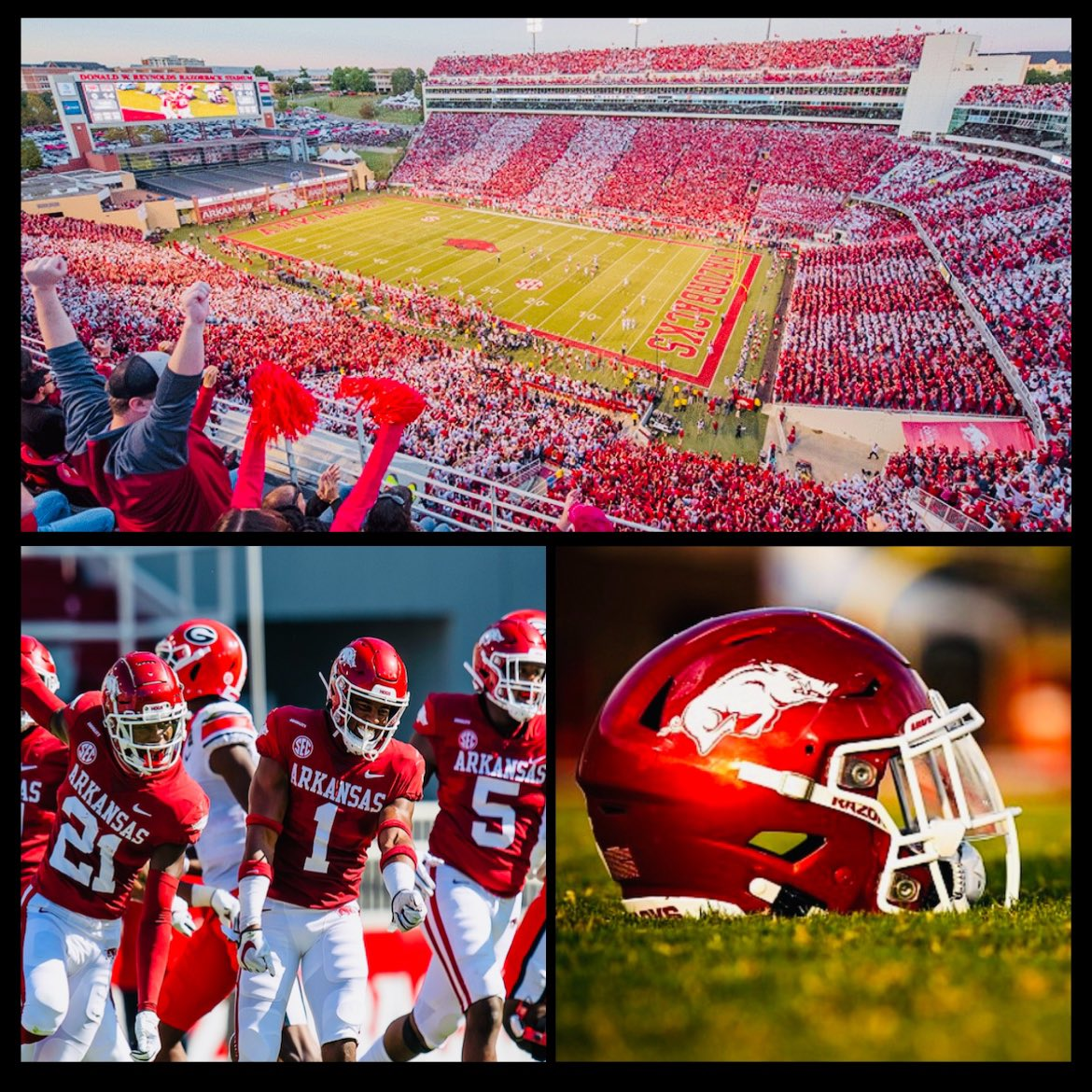 After a great conversation with @CoachCarterArk I am Blessed and Honored to say I have earned an athletic scholarship offer from The University Of Arkansas 🐗❤️! #WPS @BamPerformance @DannyWest247 @CoachStew_TTR @_Recruit_Temple @samspiegs @samspiegs @CJVogel_TFB @MikeRoach247 https://t.co/HeCOYmqmML