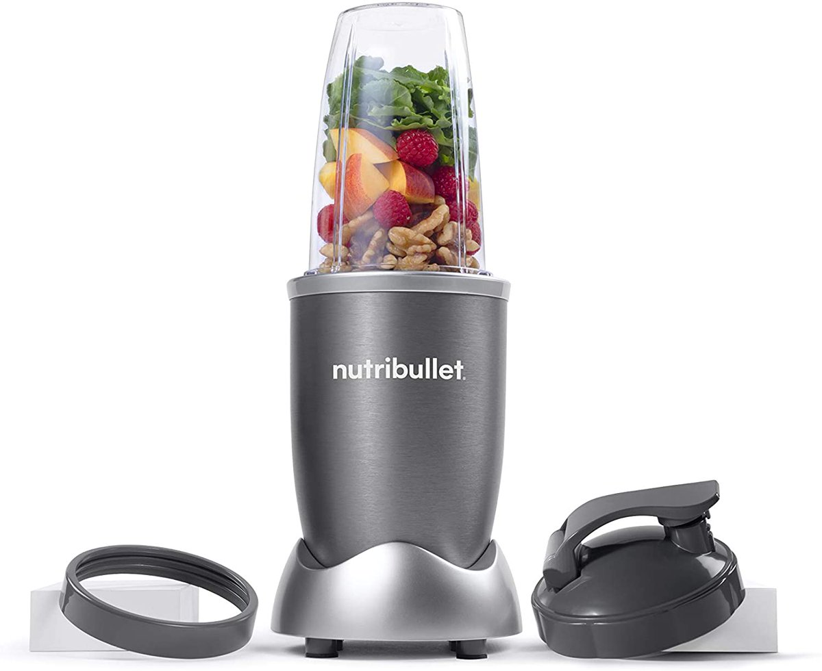 NutriBullet NBR-0601 Nutrient Extractor, 600W, Gray $38 warehouse deal   2