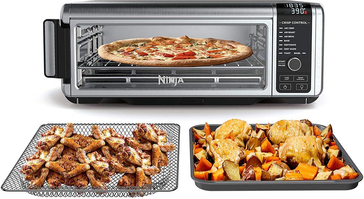 Ninja SP101 Foodi 8-in-1 Digital Air Fry, Large Toaster Oven $170 warehouse deal    2