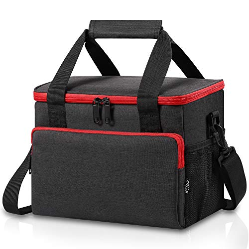 50% off Insulated Lunch BagUse promo code: DTJYJ5RJOnly works on Black-Red  2