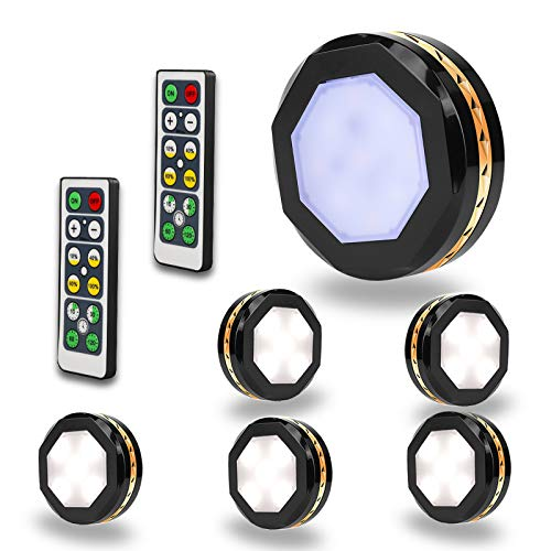 69% off LED Puck Lights Clip the Extra $7 off coupon and use promo code: KKYXQMFW  2