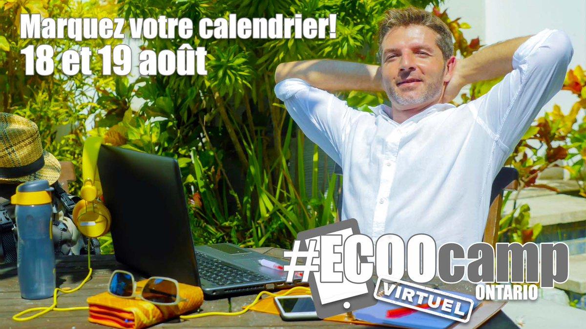 Marquez votre calendrier! Le camp de l'OOCÉ #ECOOcampON21 arrive les 18 et 19 août ! @otffeo @otf_pd @ETFOeducators @osstf @AEFO_ON_CA #OntEd