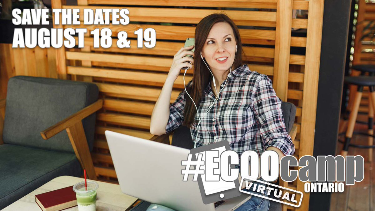 Save the dates!  #ECOOcampON21 is coming August 18 & 19! @otffeo @otf_pd @ETFOeducators @osstf @AEFO_ON_CA #OntEd