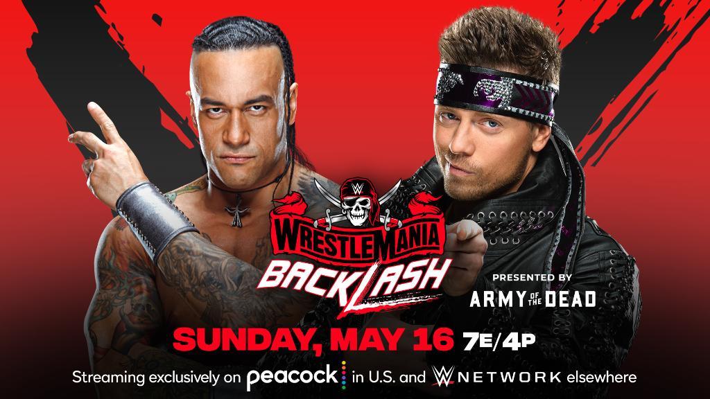 Updated Wrestlemania Backlash 2021 Match Card Following WWE Raw 159