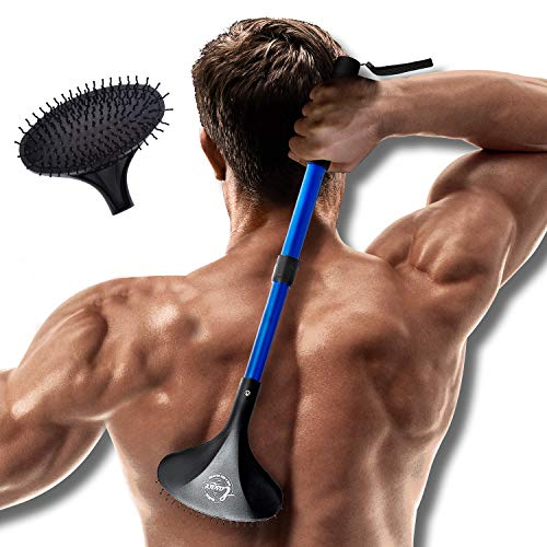 2 EASACE Extendable Back & Body Scratcher
