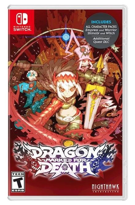 Dragon Marked for Death (S) $23.99 via Best Buy. 2