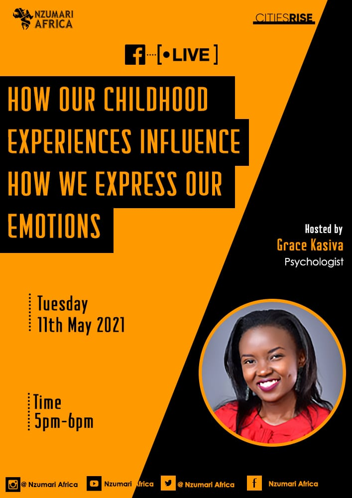 This week we focus on Childhood experiences & how they impact positively or negatively on our mental health especially in our adulthood! Join us this evening on Facebook live between 5 to 6pm with @gkasiva as we explore the topic below #MentalHealthAwarenessMonth @citiesRISE