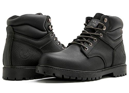 2 kingshow Men's 1366 Water Resistant Premium Work Boots