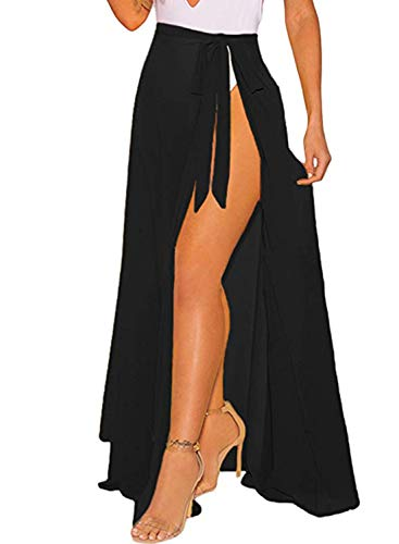 2 OmicGot Women's Swimsuit Cover Up Beach Sarong Wrap Maxi Skirt