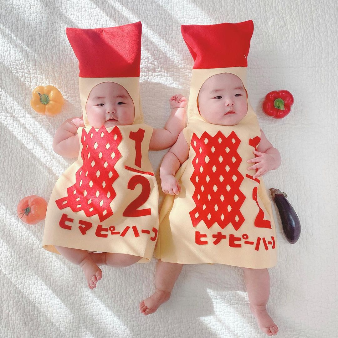 キューピーハーフマヨネーズで「ハーフバースデー!」赤ちゃん着ぐるみどこで買えるの?!