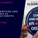 Image for the Tweet beginning: Xerox Floor Graphix is the