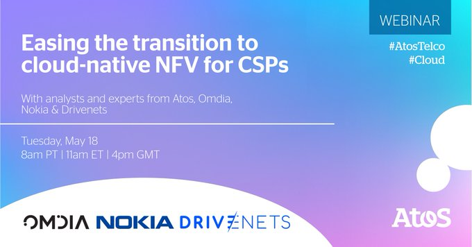 [#Webinar] D-7! Next week, join the LIVE Webinar with analysts and experts from Omdia,...