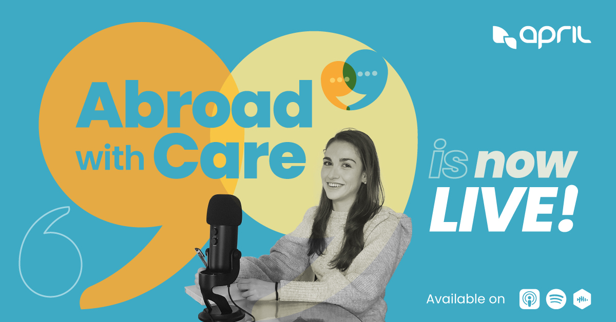 "Image for the Tweet beginning: ""Abroad with Care"", le #podcast"