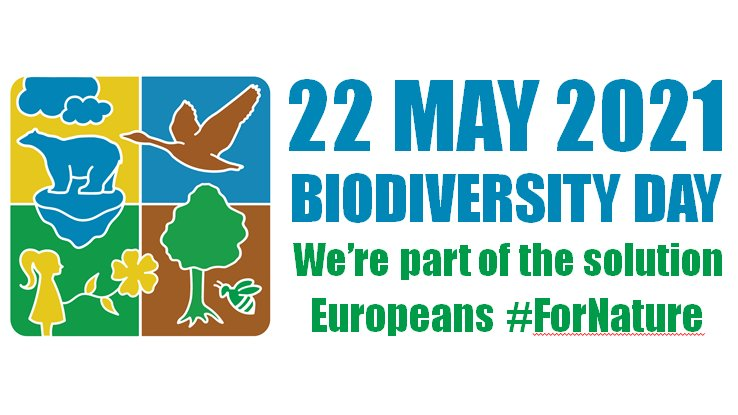 RT @EU_ENV We are a piece in the 🧩 of life 🦠🐍🦜🌳  Ahead of 🌍 #BiodiversityDay on 22 May, show you are part of the solution to solve the #NatureCrisis  Add your name/organisation/city to the @UNBiodiversity logo on: https://t.co/dYx8gcwoUV  #ForNature #CoP15 #UnitedforBiodiversity 🌱