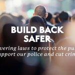 Image for the Tweet beginning: We are building back safer