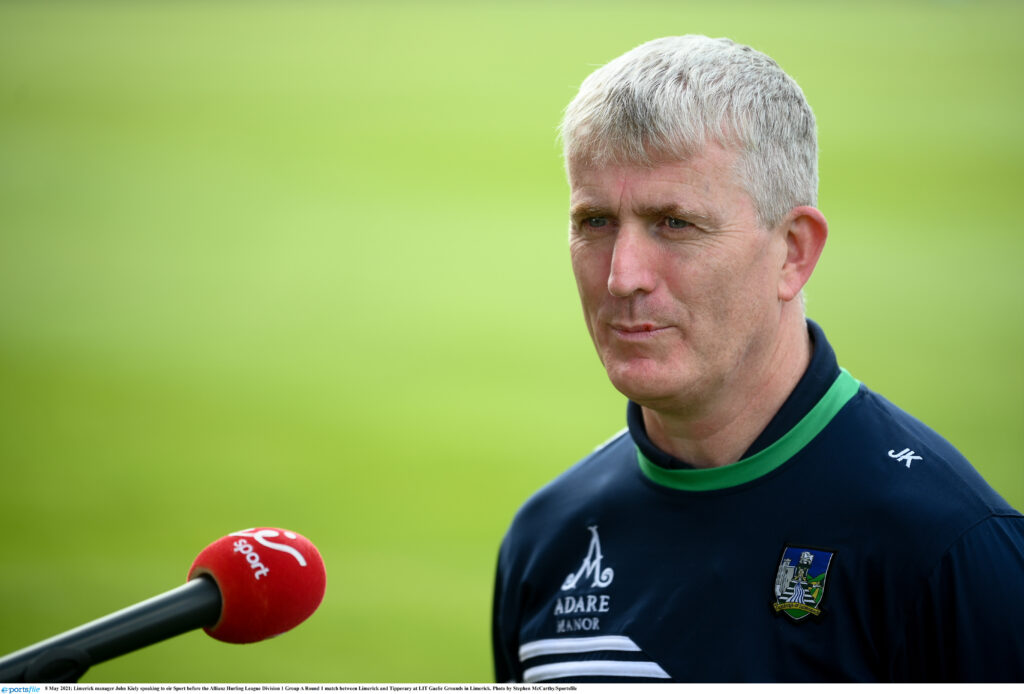 WATCH John Kiely reflects on 'fair result' against Tipperary