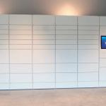 Image for the Tweet beginning: Smart lockers allow the slick