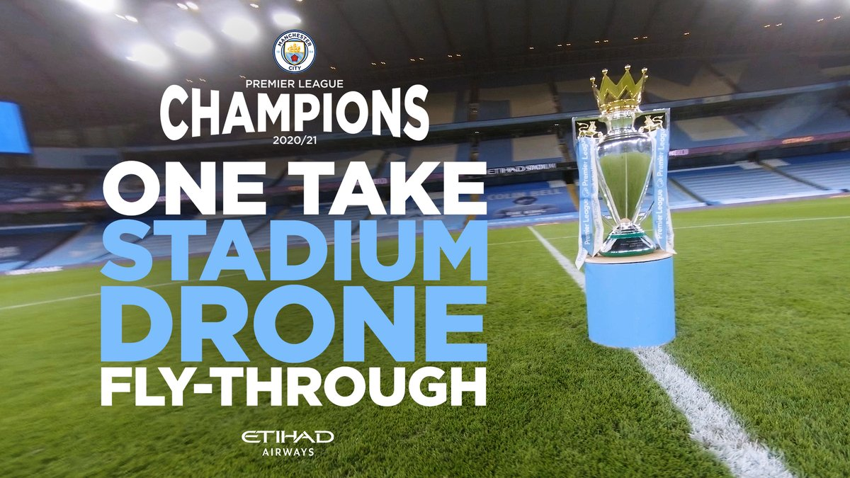 We've got one take at this! Let's go!  What a season! What a ride! 🏆  🔊 Sound ON! 🎥 Watch 'til THE END!  🤝 @etihad 🔷 #ManCity   https://t.co/axa0klD5re https://t.co/Kh9y9wAK6w