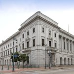 The GSA managed John Minor Wisdom US Court of Appeals Bldg in @CityOfNOLA is a rectangular three story building of white marble on a gray granite base exemplifying the Italian Renaissance style. Learn more: https://t.co/ezlW6pxE88 #ThisPlaceMatters #PreservationMonth @US_GSAR7