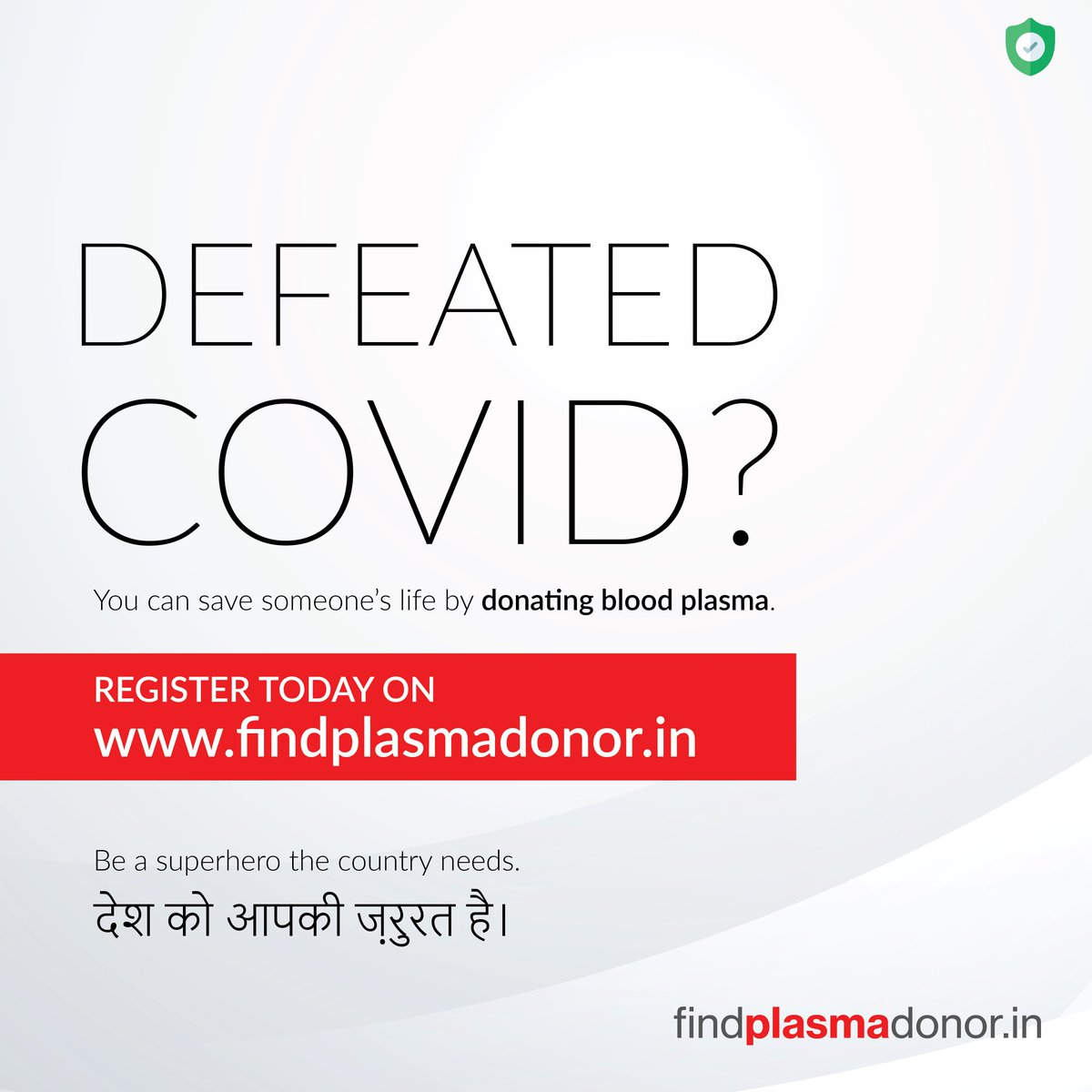 Defeated Covid ? Help someone by saving their life.  Donate #Plasma!  CovidResources Verified 200+ people searched for donors on portal. INDORE Mumbai Pune raipur  #Pune #COVIDEmergencyIndia #CovidSOS #CoronaSecondWave 🦠 😷 https://t.co/1pfGruMQot