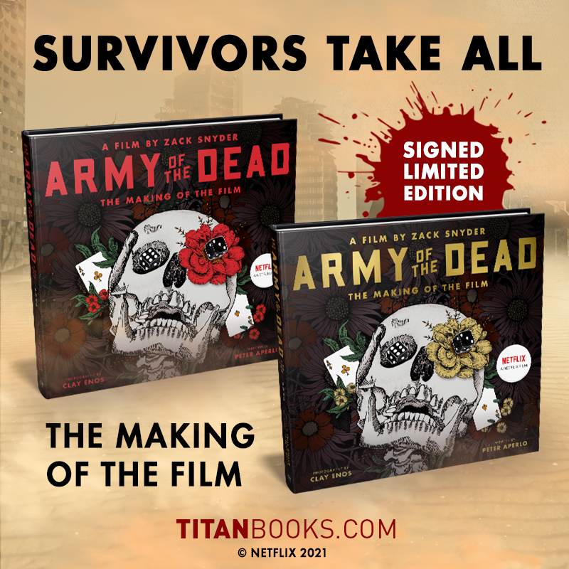 Lots of small details and easter eggs in these pages as well as stunning photography from @ClayEnos. #ArmyOfTheDead