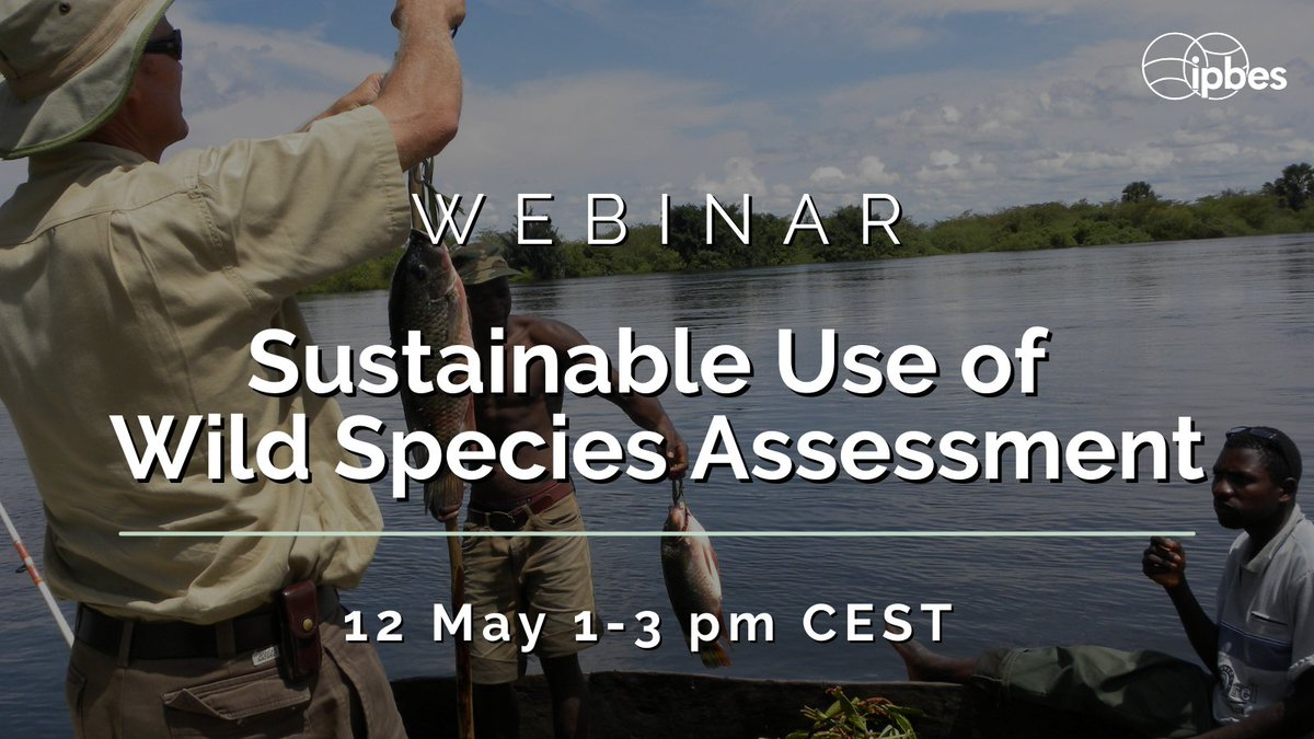 RT @IPBES WEBINAR on the review of the Summary for Policymakers & the chapters of the @IPBES #SustainableUse of wild species assessment  🍄🐍🦀🦜🐾  Register as a reviewer to join the webinar https://t.co/KpkI9dISRE