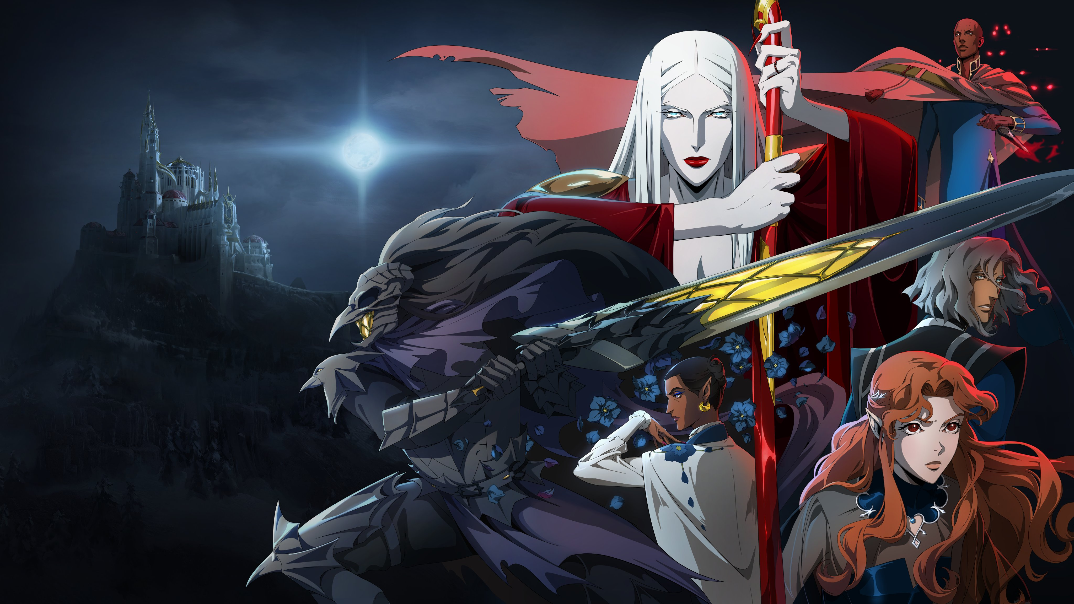 Castlevania revela novo pôster para a campanha publicitária da quarta temporada 1
