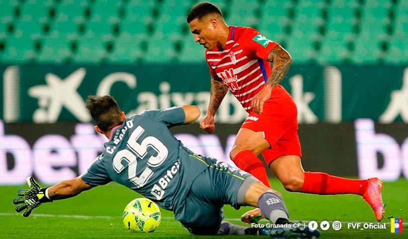 Darwin Machis anota gol histórico en la derrota del Granada CF🔗
