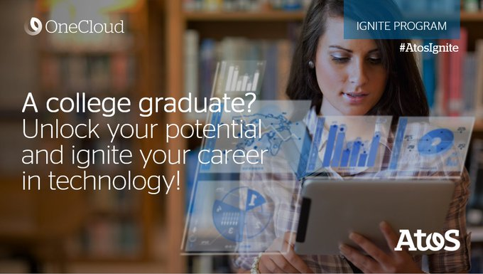 IGNITE is our graduate development program, part of the #AtosOneCloud Initiative. Become a...