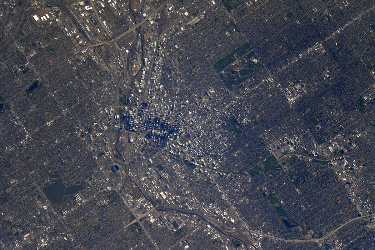 NASA Astronaut Shows View Of Denver From The International Space Station | iHeartRadio