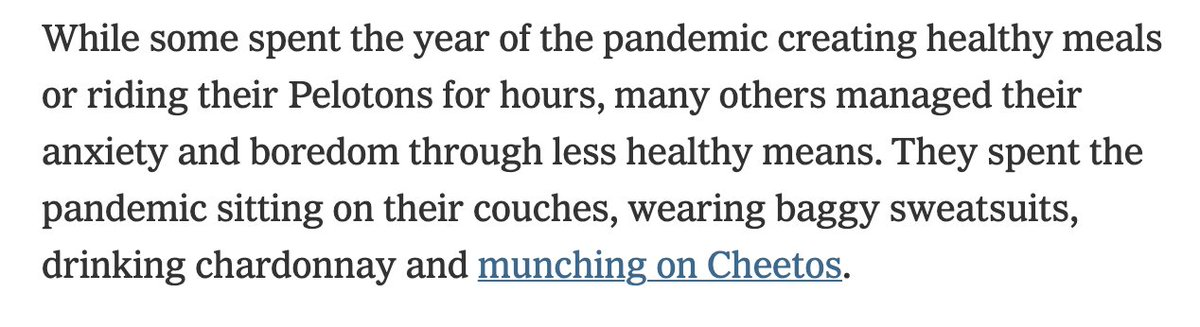 Normalize appreciating the fact that our bodies got us through a deadly pandemic the likes of which we haven't seen in a century and not shaming the body. https://t.co/n2WhTjzu0O