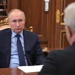 Image for the Tweet beginning: Meeting with Krasnoyarsk Territory Governor