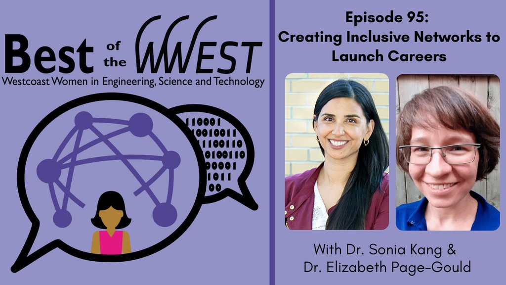 Check out this recent podcast episode by @WWEST_SFU on creating inclusive networks to launch careers. The episode features Dr. Sonia Kang (@Sonia_Kang) & Dr. Elizabeth Page-Gould (@page_gould) ! #ProjectSINC #WomenInSTEM