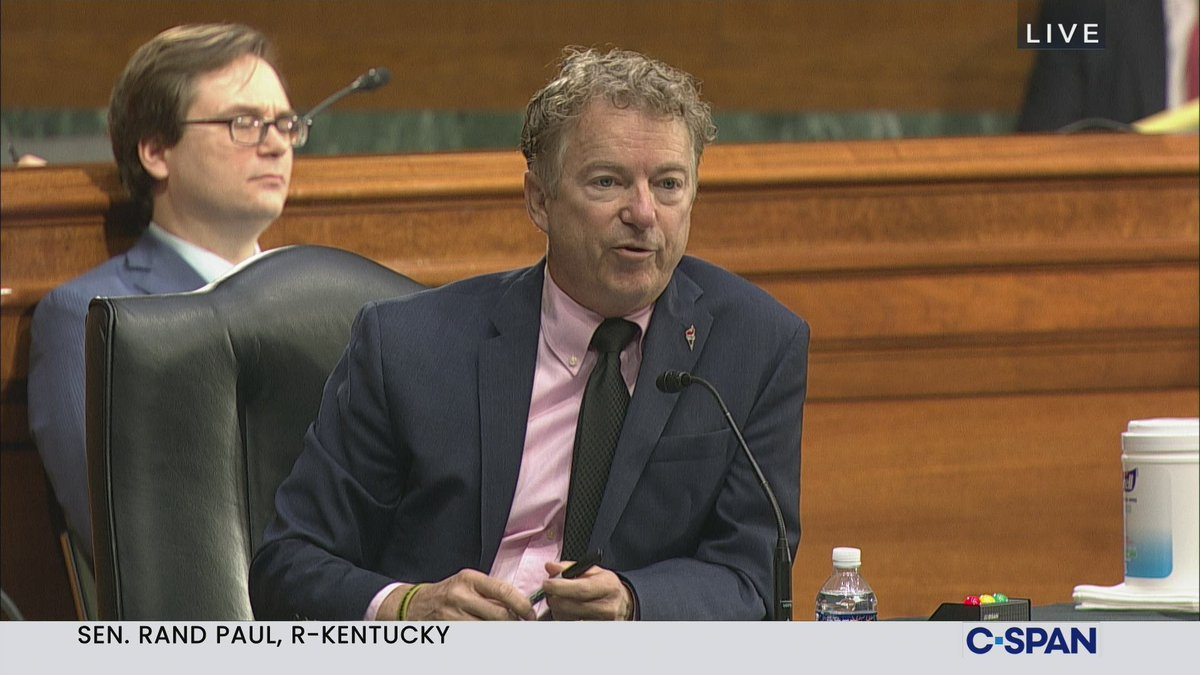 """Image for the Tweet beginning: RAND PAUL: """"Dr. Fauci, do"""