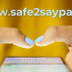 Image for the Tweet beginning: #Safe2SaySomething is a youth violence
