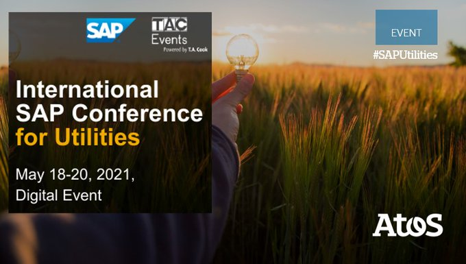 📆 Atos is sponsoring the @SAP International Conference for #Utilities taking place...