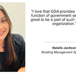 The people of GSA series highlights individuals from our mission-ready workforce.  Natalie Jackson is a building management specialist in Corpus Christi, Texas. https://t.co/3lSICcS25S #ThePeopleOfGSA @US_GSAR7