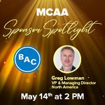 Image for the Tweet beginning: Register today for MCAA's Sponsor