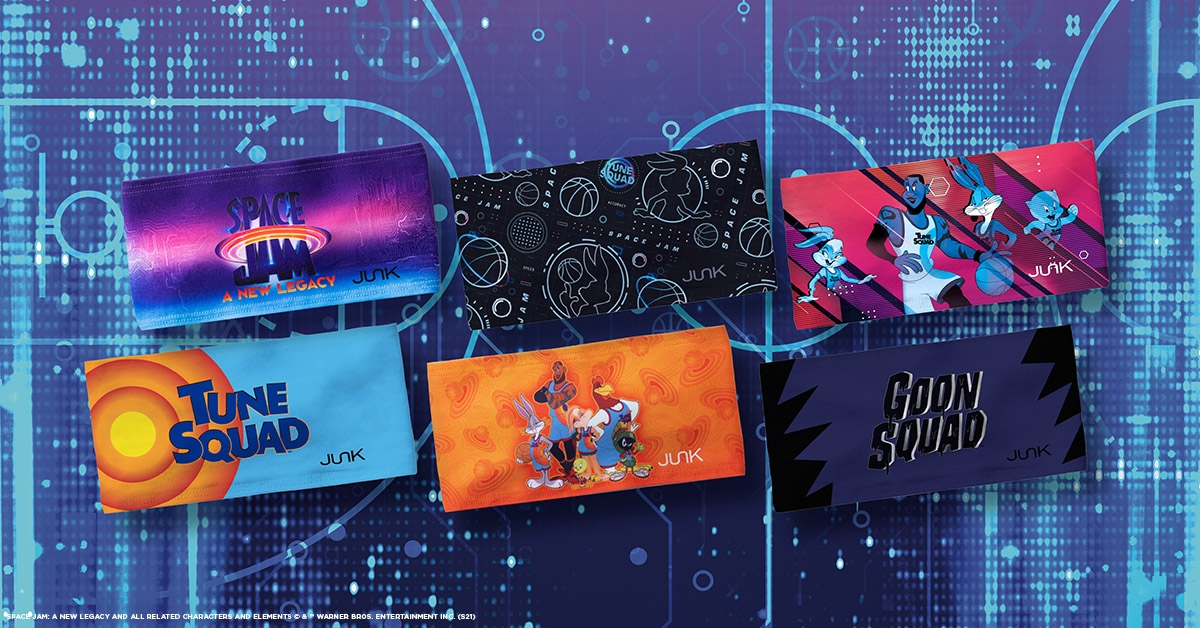 A New Legacy. A New Squad. A New King. 🏀👑  Shop our BRAND NEW Space Jam A New Legacy collection NOW!   #JUNKBrands #JUNKHeadbands #SpaceJamMovie #Basketball #TuneSquad #LooneyTunes #BugsBunny