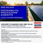Image for the Tweet beginning: Città e sviluppo sostenibile. Idee per